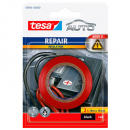 tesa REPAIR INSULATION, Isolierband in Rot und Schwarz 59964-00000, 2x 10m x 15mm